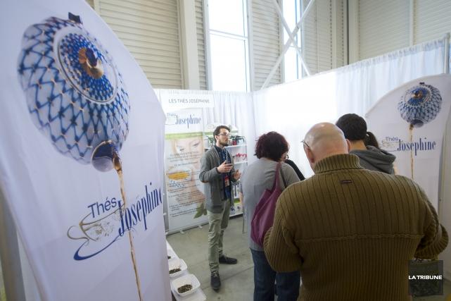 Le Salon des découvertes savoureuses a attiré plus... (Imacom, Julien Chamberland)