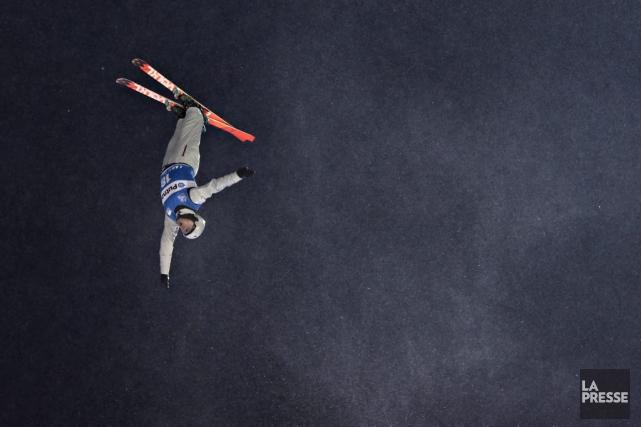 Olivier Rochon a terminé quatrième de la seconde... (Bernard Brault, archives La Presse)