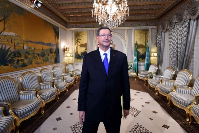 Le nouveau premier ministre tunisien Habib Essid.... (PHOTO FETHI BELAID, AFP)