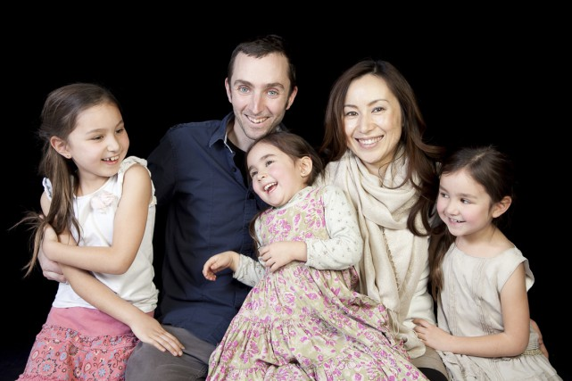 La famille de Jean-Bernard Gariépy s'est installée au... (Photo fournie par Jean-Bernard Gariépy)
