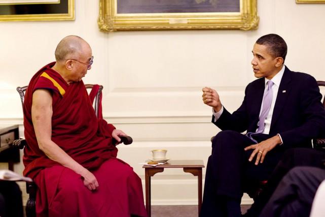 En février 2010, le président Obama avait déjà... (PHOTO PETE SOUZA, ARCHIVES MAISON-BLANCHE)