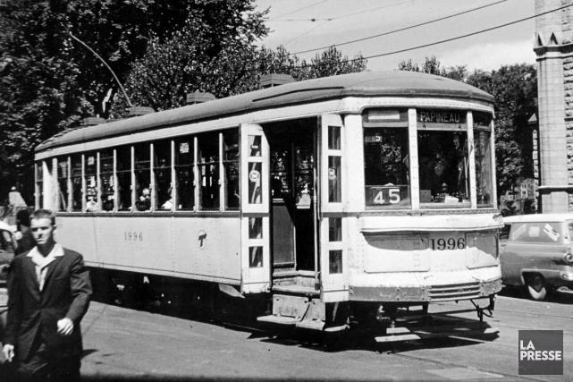 1903 - À Montréal, les employés des tramways entrent en grève. (Photo archives La Presse)