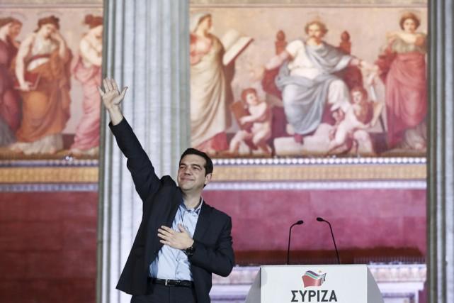 Le nouveau premier ministre Alexis Tsipras a promis... (Photo: Associated Press)