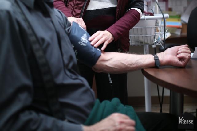 La Clinique médicale des Papetiers à Windsor est ouverte depuis l'automne... (Archives La Presse)