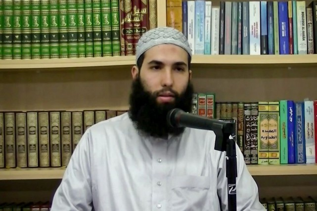 L'imam Hamza Chaoui... (Image tirée de YouTube)