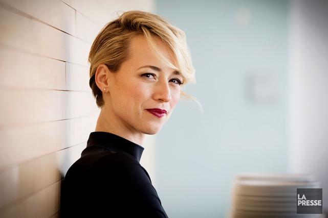 Karine Vanasse sera la vedette d'une télésérie produite... (La Presse, ALAIN ROBERGE)