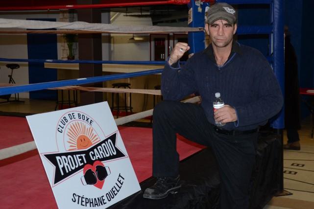Stéphane Ouellet ouvrira un club de boxe sur... ((Photo Serge Émond))