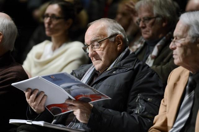 L'ex-maire et ex-député de Jonquière, Francis Dufour, a... ((Photo Jeannot Lévesque))