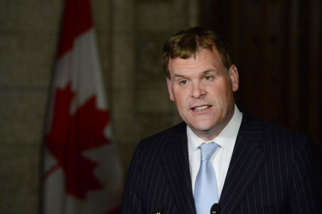 L'éventuel départ de John Baird laisserait un poste... (Photo: PC)