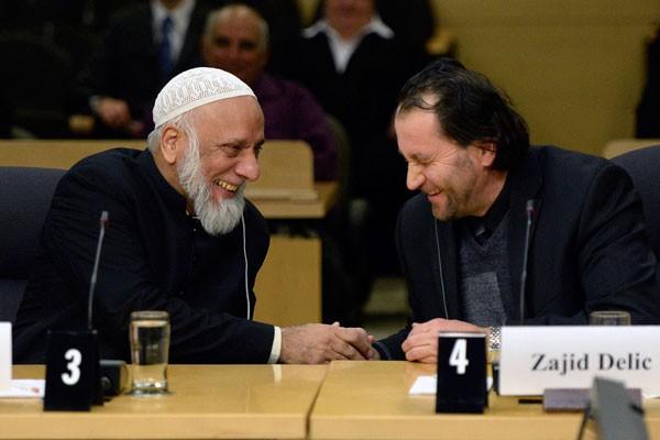 Selon l'imam d'Ottawa Zijad Delic (droite), les intervenants... (La Presse Canadienne)