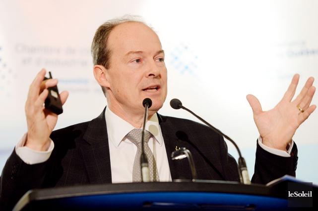 Michel Dallaire, chef de la direction et président... (Photothèque Le Soleil, Erick Labbé)