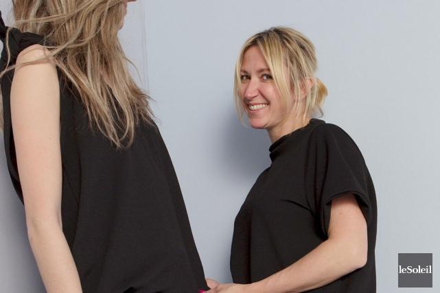La designer et propriétaire de la griffe Jax... (Le Soleil, Caroline Grégoire)