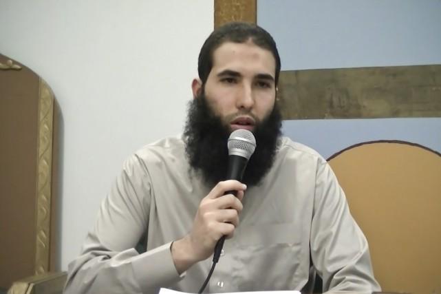 Hamza Chaoui... (IMAGE TIRÉE D'UNE VIDÉO YOUTUBE)