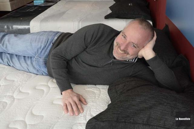 Le succès sourit au directeur des opérations des... (Photo: Sylvain Mayer, Le Nouvelliste)
