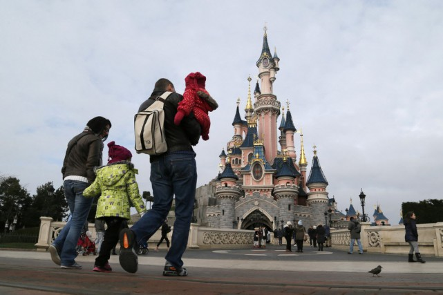 Disneyland, à Paris.... (Photo Gonzalo Fuentes, Reuters)