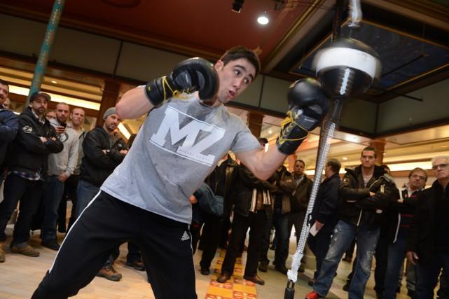 Mikaël Zewski... (Photo: Sports Focus)
