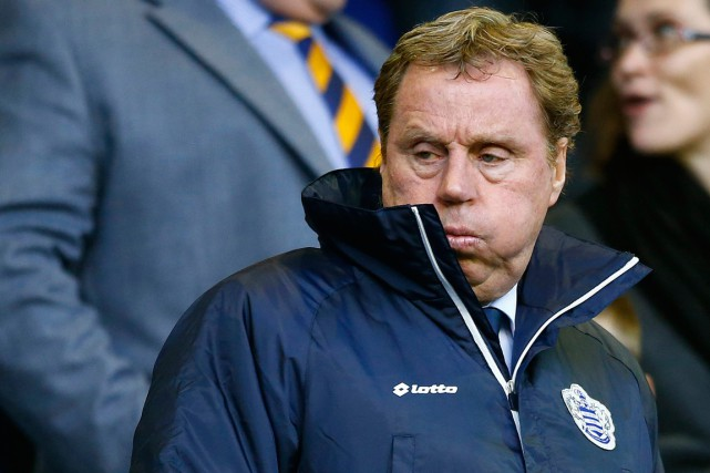 L'entraîneur des Queens Park Rangers, Harry Redknapp.... (Photo Darren Staples, archives Reuters)
