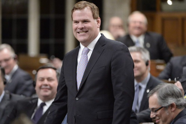 John Baird... (PHOTO ADRIAN WYLD, LA PRESSE CANADIENNE)