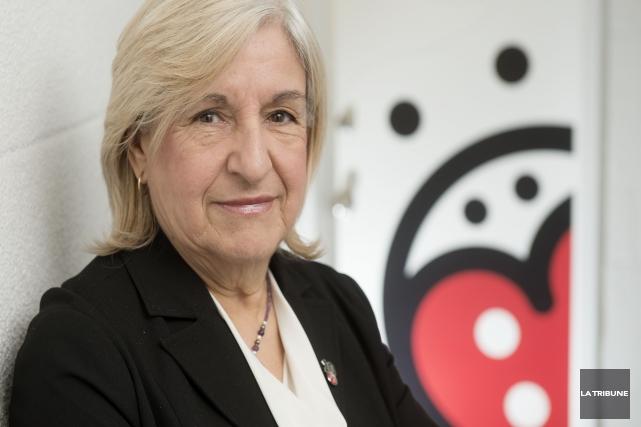Suzelle Lacroix... (Imacom, Frédéric Côté)
