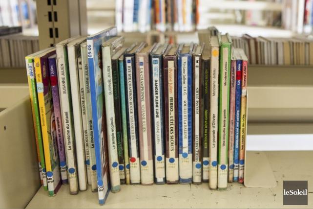 L'histoire de la bibliothèque de St-Albert pourrait connaître son dernier... (Le Soleil, Caroline Grégoire)