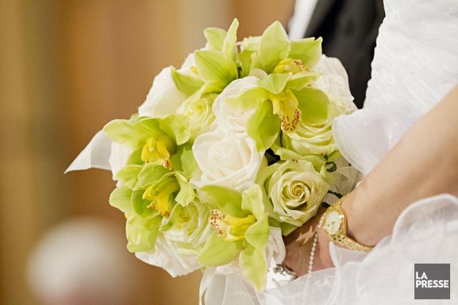 La proportion de mariages entre conjoints de même sexe au sein des mariages... (Archives La Presse)
