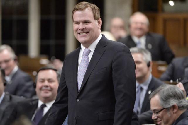 Le ministre John Baird a annoncé qu'il quittait... (Adrian Wyld, La Presse Canadienne)