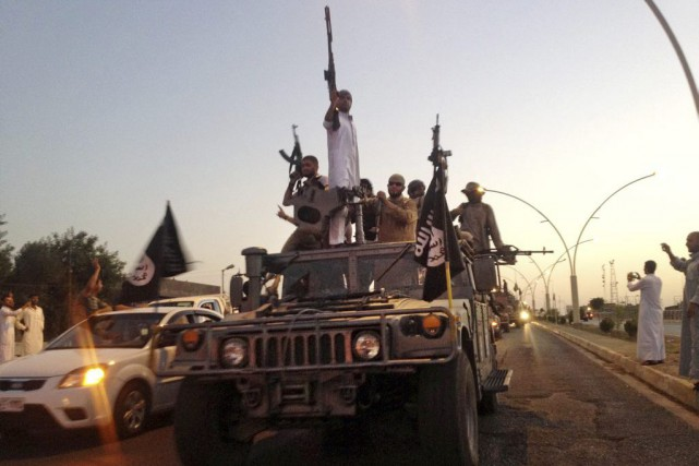 Desdjihadistes du groupe État islamique.... (PHOTO ARCHIVES AP)