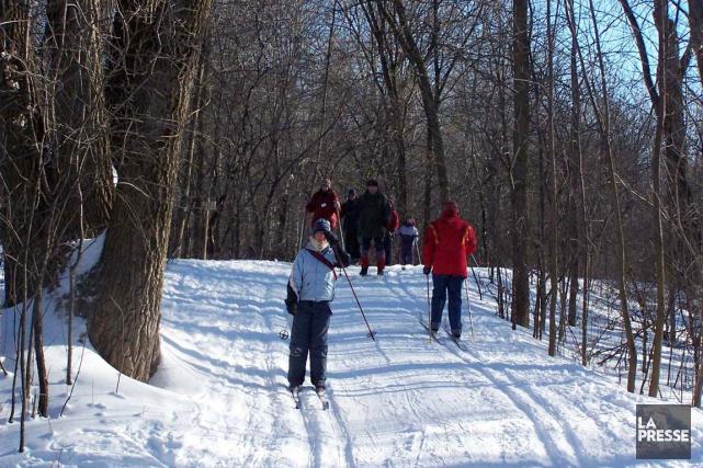 Les randonneurs, raquetteurs, skieurs et utilisateurs de la... (PHOTO ARCHIVES LA PRESSE)