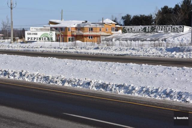 La Pépinière 55 est située près de l'autoroute... (Photo: François Gervais, Le Nouvelliste)