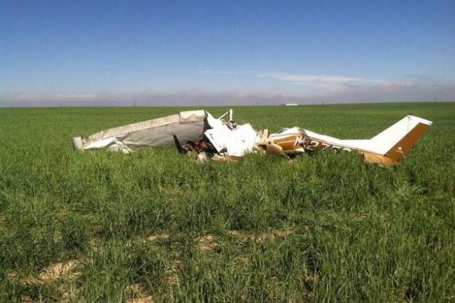 L'écrasement a a eu lieu peu après le... (Photo Adams County Sheriff's Office/Denver Post)