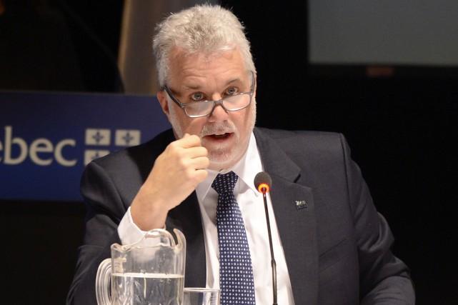 Le premier ministre Philippe Couillard a raté une... ((Photo Jeannot Lévesque))