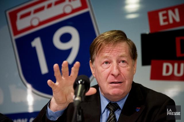 Le maire de Laval, Marc Demers... (PHOTO ALAIN ROBERGE, LA PRESSE)