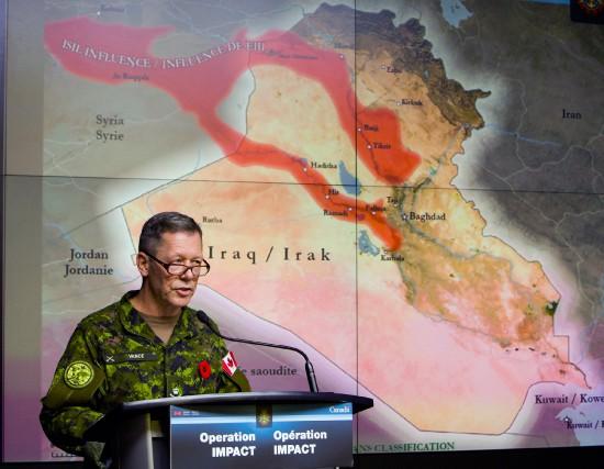« Les généraux canadiens devraient être félicités pour... (PHOTO FRED CHARTRAND, ARCHIVES LA PRESSE CANADIENNE)