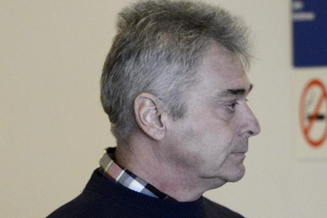 L'ex-policier de Saguenay, Robin Bouchard, est accusé d'avoir... ((Photo Jeannot Lévesque))