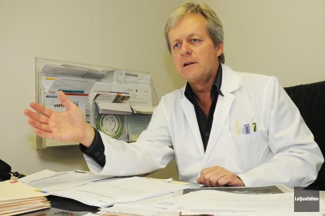 Président du conseil des médecins, dentistes et pharmaciens... ((Archives Le Quotidien))
