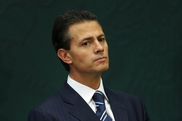 Le président mexicain mexicain Enrique Peña Nieto a annoncé mardi le lancement... (Photo: Reuters)