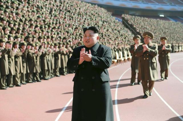 Le dirigeant de la Corée du Nord Kim... (Photo: Reuters)