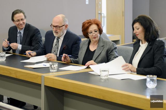 Le juge coordonnateur du Saguenay-Lac-Saint-Jean, Pierre Lortie, le... ((Photo Le Quotidien, Jeannot Lévesque))