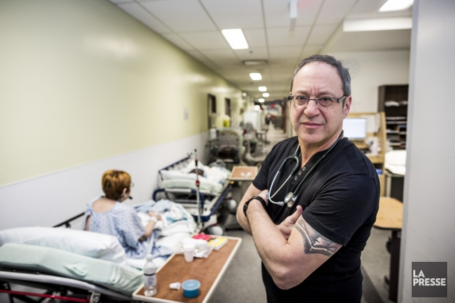 Le Dr Claude Arsenault... (PHOTO OLIVIER PONTBRIAND, LA PRESSE)