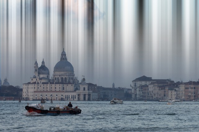 Image tirée de la vidéo Electrosmog Venezia, 2015,... (Photo fournie par la Galerie de l'UQAM)
