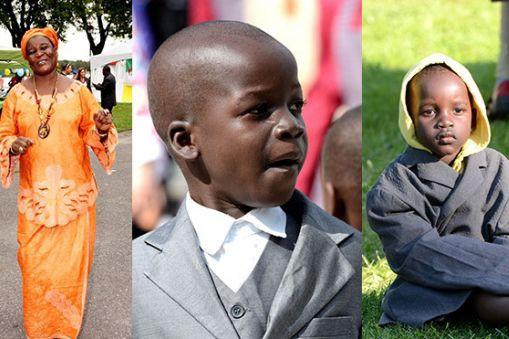 Berthe, Flavien et Julien Okenge ont perdu la... (Photo fournie)