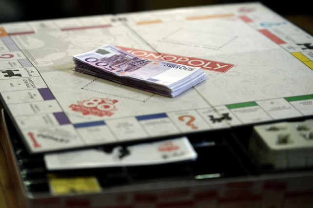 La version française du Monopoly célèbre son 80eanniversaire... (Photo Patrick Hertzog, AFP)