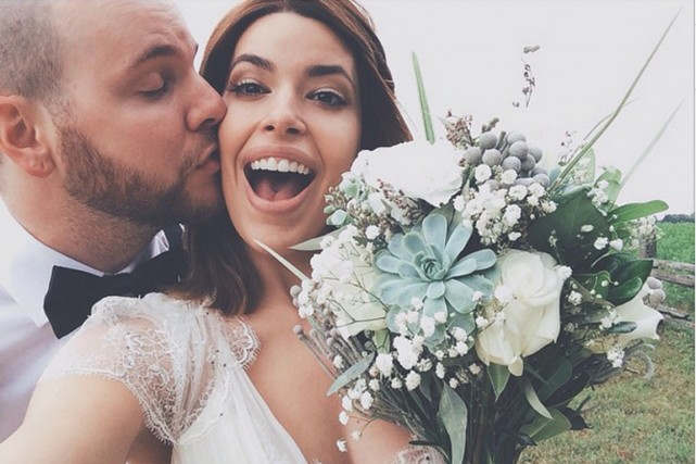 Pour Alexandre, le mariage est d'assurer à Marilou... (Photo tirée du compte Instagram de Marilou)