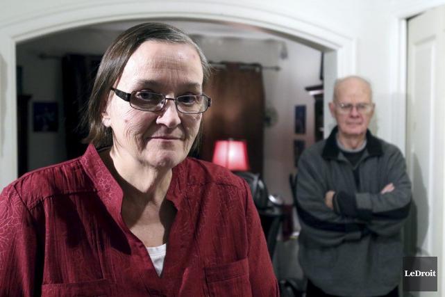 Francine et Raymond Lorange sont à bout de... (Patrick Woodbury, LeDroit)