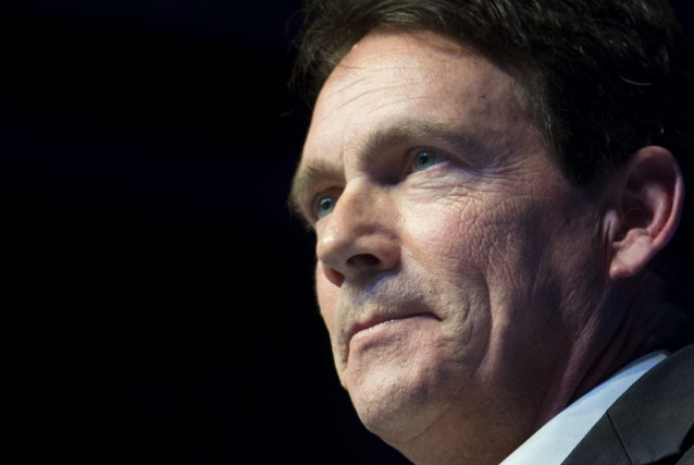 Pierre Karl Péladeau... (PHOTO GRAHAM HUGHES, ARCHIVES LA PRESSE CANADIENNE)