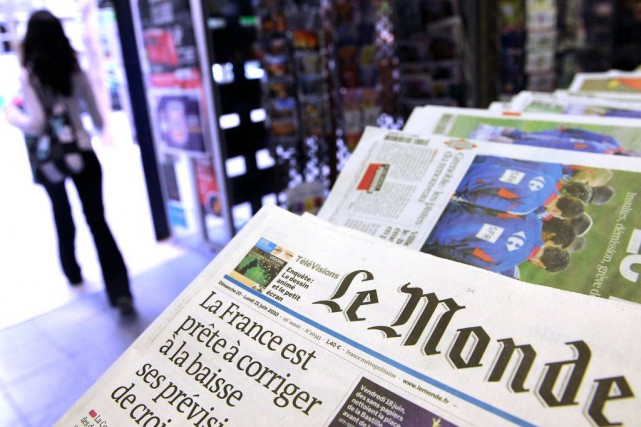 En complétant son offre éditoriale, le quotidien souhaite... (Photo Antoine Antoniol, Archives Bloomberg)