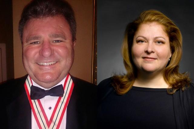 Gilles LeVasseur et Sylvie Lamoureux ont été décorés... (Courtoisie)