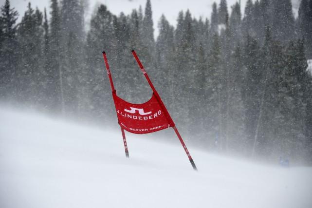 Le super-G masculin des Championnats du monde 2015 de ski alpin, prévu... (Photo Fabrice Coffrini, AFP)