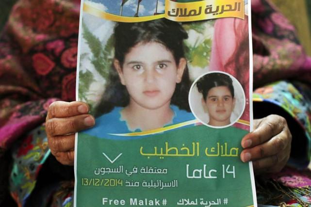 Si le cas de Malak, condamnée à deux... (PHOTO ABBAS MOMANI, AFP)