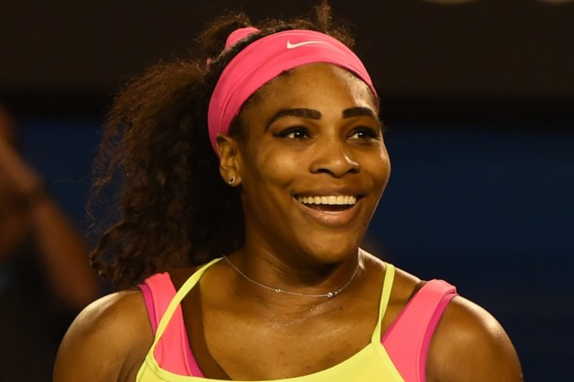 Serena Williams... (Photo Mal Fairclough, archives AFP)